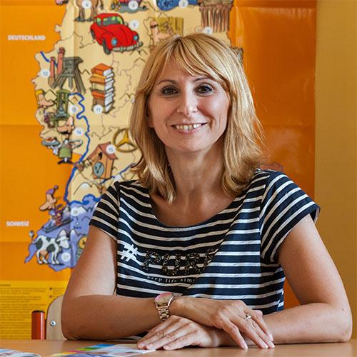 Alexandra Hučeková, lektorka a vedúca vzdelávacieho centra Babylon Education.